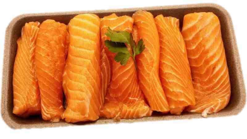 Salmon En Filetes Finos, Sin Espinas y Sin Piel- aprox 500 gr