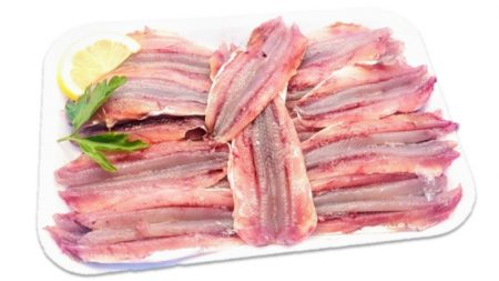 Boqueron en filetes 500 gr aprox 30 und