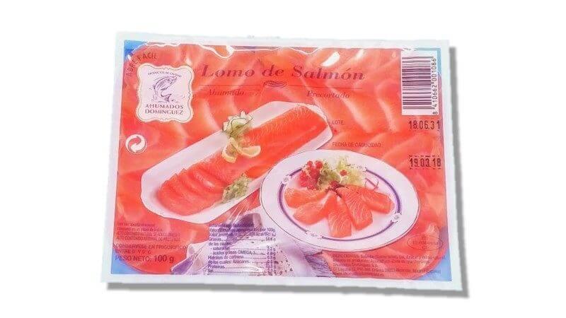 Salmon Ahumado -lomitos-100 gr -Dominguez