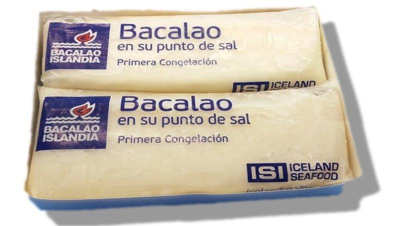 Bacalao Lomos Sin Espinas gadus morhua -congelado -Caja 2 kg abierta Aprox 4-6 und