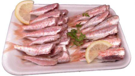 salmonetes pequeños 600gr sin cabeza